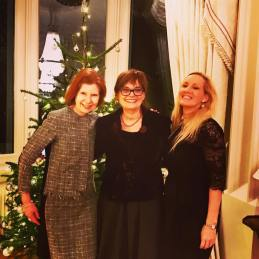 Ambassador Sarah with Marit and Inger