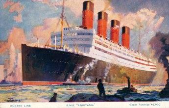 Cunard Line - Aquitania