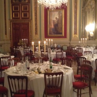 Draper's Hall - All set for dinner