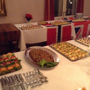 Some of the delicious food that was served