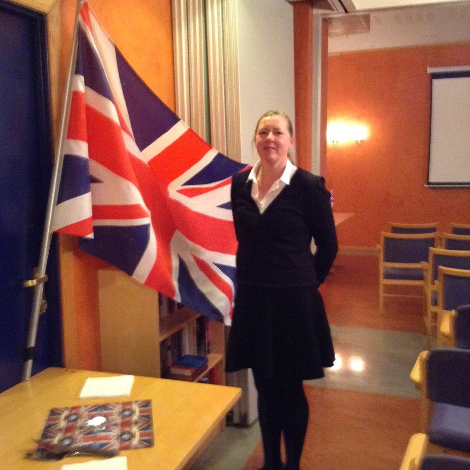Hanne and Union Jack