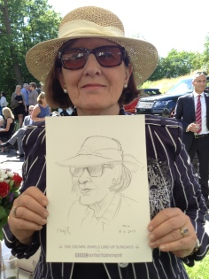 Lifelike sketch of our Deputy Chairman Elisabeth Solem