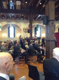 The crowd in Fanehallen