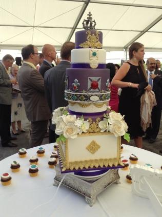 The Queen's cake