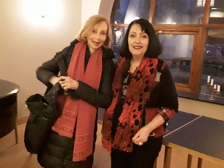 Jannike Falk and Sybil Richardson
