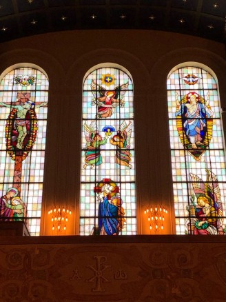 Stained glass windows by Per Vigeland